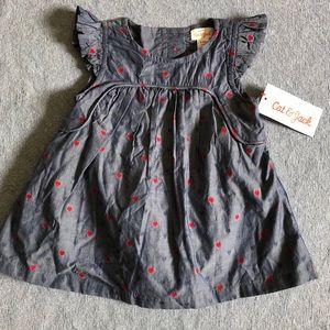 NWT Cat & Jack baby girl dress